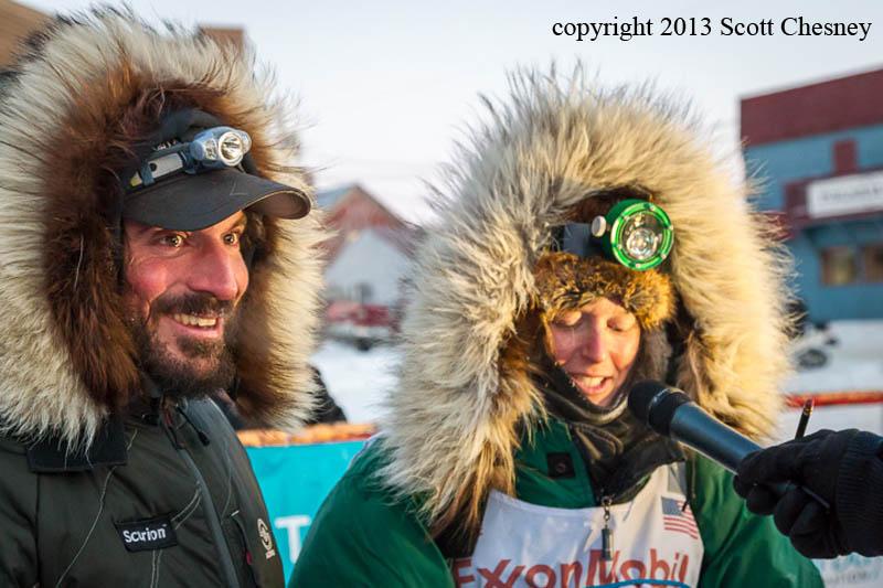 Paige Drobny in Nome